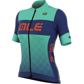 Alé Cycling R-EV1 Rumbles Short Sleeve Jersey Women turquoise-blu light
